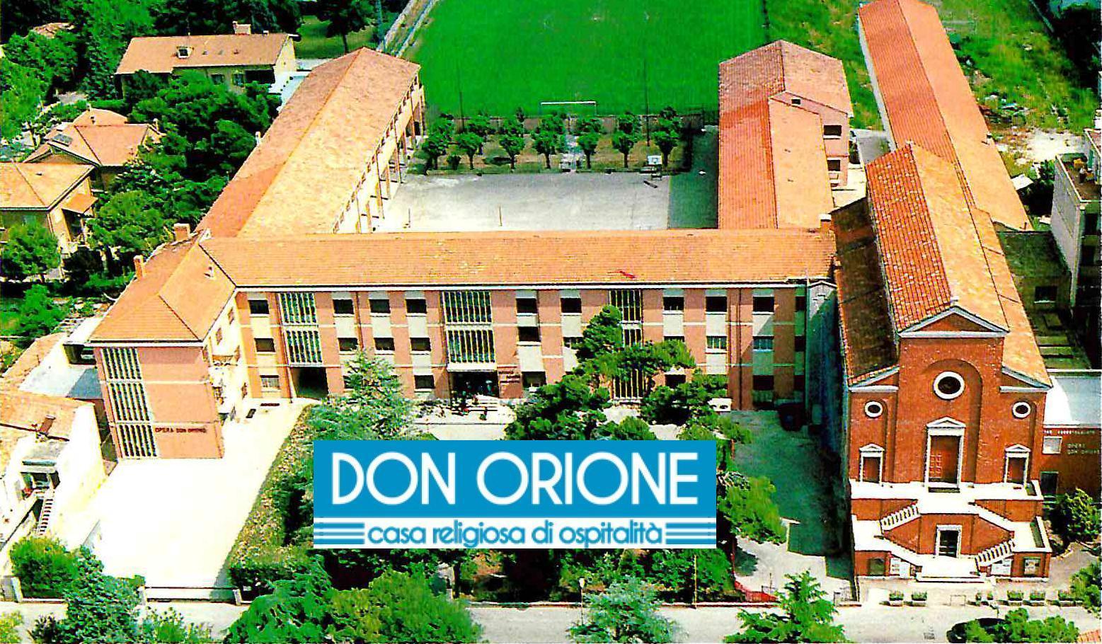 Istituto Don Orione con logo grande